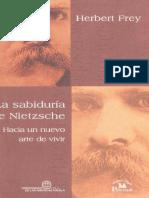 La sabiduría de Nietzsche