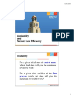 AVAILABILITY AND SECON LAW EFFICIENCY.pdf
