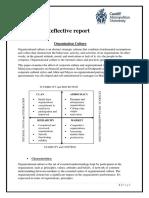 Reflactive Report on PNB