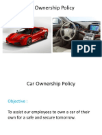 Own Your Car Policy