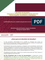 Guia de Revision de Estudios 2019-2