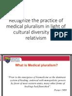 Medical Pluralism