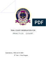 Practice Court Rtc and Mtcc Court Observation