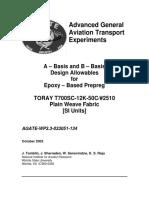 T700 Prepreg Material Charecterization