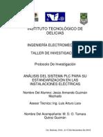 ANÁLISIS DEL SISTEMA PLC (POWER LINE COMUNICATION) PARA SU ESTANDARIZACIÓN EN LAS INSTALACIONES ELÉCTRICAS