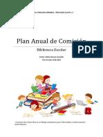 Plan Anual de Comisión