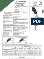 Valvula Proporcional Con Posicionador Asco