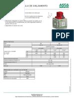 Valvula de Corte Numatics Serie 651-652