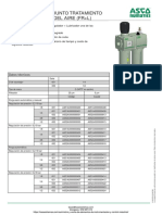 Unidad Tratamiento Aire Comprimido Numatics Serie 651-652