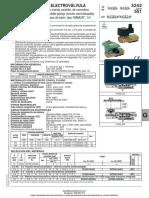 Electrovalvula Serie 551 Asco