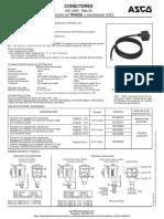 Conector Electrovalvula Asco