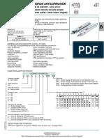Cilindro Anticorrosion Numatics Serie 431