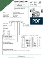 Cilindro Compacto Numatics Serie 441 - g441