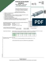 Bloqueador de Vastago Dinamico Numatics Serie 450