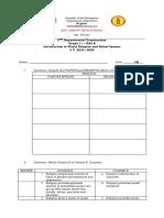 IWRBS 2nd Departmental Exam