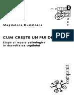 Magdalena Dumitrana Cum creste un pui de om. Etape si repere psihologice in dezvoltarea copilului.pdf
