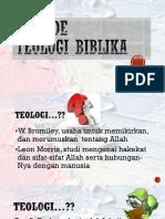 2. Metode Teologi PB-1