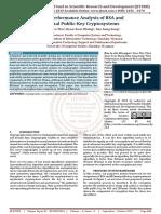 Time Performance Analysis of RSA and Elgamal Public Key Cryptosystems
