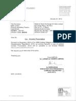 L&T InvestorPresentationQ3FY19 143