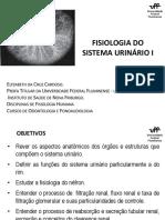 Fisiologia Do Sistema Urinário I