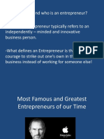 Core Competencies of Entrepreneurship