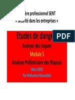 EDD Module 5 Analyse Preliminaire de Risque