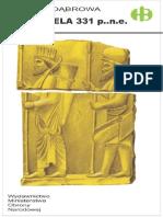Historyczne Bitwy 028 - Gaugamela 331 p.n.e, Edward Dąbrowa.pdf
