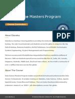 Data Science program