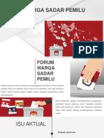 Forum Warga Sadar Pemilu