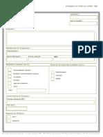 Formulário de Pedido de Crédito FAE