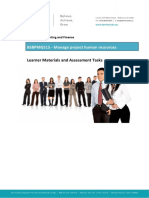 Book 1 Manage Project Human Resources Book