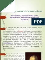 Modernidad y Posmodernidad (2)