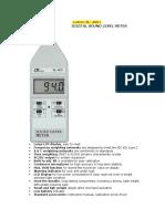 Lutron SL-4001 Sound Meter