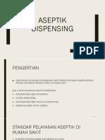 Aseptik Dispensing