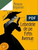 Lebedele de pe Fifth Avenue - Melanie Benjamin.pdf