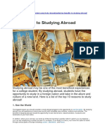 10 Benefits to Studying Abroad.docx