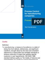 Process Flow Mapping for Manufacturing
