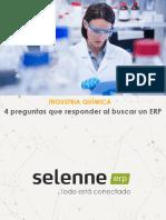 4 preguntas que contestar al buscar un ERP para Industria Química