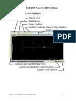 160 SAP 2000 Lab 6 Notes