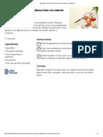 receta aguacate keto