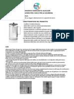 Magravs Energizer Alkalizer Manuale Italiano