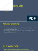PD SESSION 3-Personal Grooming
