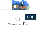 8 - assessment plan