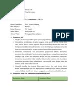 RPP Kelompok 10 KD 3.2 Dan 4.2 Transpor Membran Dan Sintesis Protein