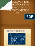Expresiones Del Sistema Endocrino y Las Hormonas en La Conducta y Comportamiento