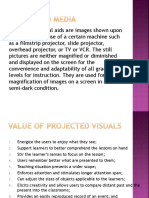 Types of Projected Visual Aids