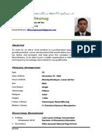 Hezam M. Mikunug Resume