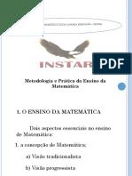 Apresentação1 metodologia e prática de ensino de matematica.pptx