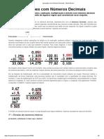 Aula - Divisão Com Números Decimais