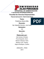 Racio - PDN